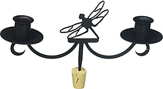Village Wrought Iron 9.5 Inch Dragonfly Wine Bottle Topper