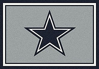 Milliken Carpet Dallas Cowboys NFL Team Spirit Area Rug by Milliken, 54 x 78, Multicolored