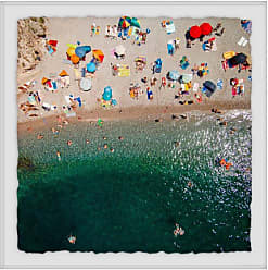 Marmont Hill Packed Beach Framed Wall Art - MH-KARJAN-45-WFPFL-12