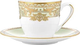 Lenox Marchesa Rococo Leaf Espresso Cup and Saucer