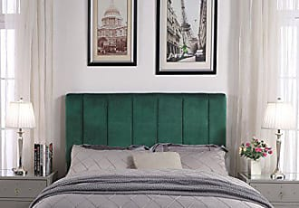 Furniture Of America Satin Flax Fabric Button Tufted Headboard Full