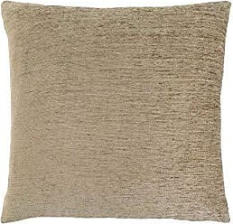 Monarch Specialties I 9297 Chenille Look Decorative Pillow Throw 18 x 18 Tan