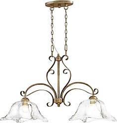 Millennium Lighting Chatsworth 2-Light Island in Vintage Gold