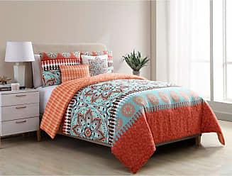 VCNY Ezra Reversible Comforter Set by VCNY, Size: Full/Queen - EZR-5CS-FUQU-IN-OB