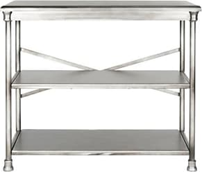 Ashley Furniture Three Tier Bookcase, Metallic
