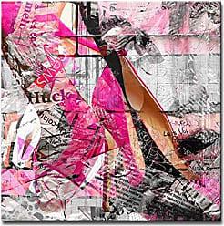 Ready2HangArt Ready2hangart Urban Fashion XXXVIII Canvas Art, H x 20 W, Pink