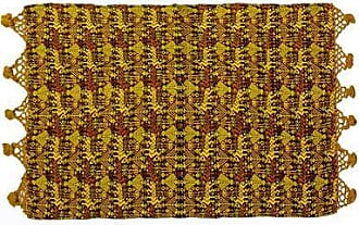 Novica Cotton table runner, Tactic Yellow