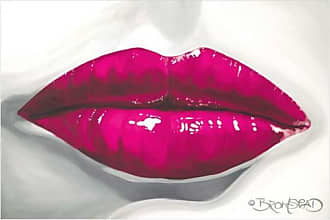 EAZL Pucker Up, Pink by Eazl Premium Gallery Wrap
