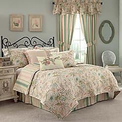 Ellery Homestyles WAVERLY Cape Coral Cotton Quilt Set, Queen