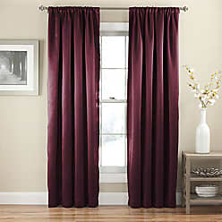 Ellery Homestyles KOZDIKO Eclipse 52 x 63 Insulated Darkening Single Panel Rod Pocket Window Treatment Living Room, Sangria