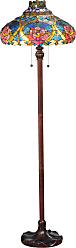 Meyda 60 H Dragonfly Rose Floor Lamp