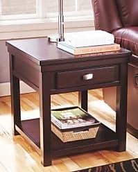 Ashley Furniture Hatsuko End Table, Dark Brown