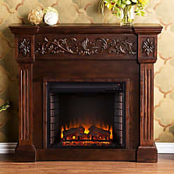 Southern Enterprises Calvert Carved Electric Fireplace - FE9278