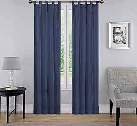 Ellery Homestyles Pairs To Go 15999060X063IND Montana 60-Inch by 63-Inch Window Panel Pair, Indigo