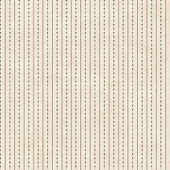York Wallcoverings Welcome Home Dots Ticking Stripe Wallpaper Beige - YC3354