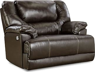 United Furniture Simmons Upholstery Bingo Cuddler Recliner - Brown - 50451BR-195 BINGO BROWN