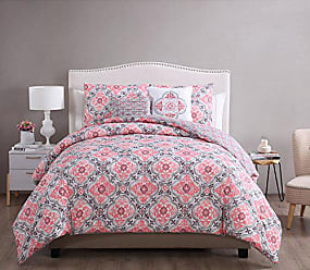VCNY Home VCNY Home W1N-5DV-KING-IN-PC Duvet Cover Set, King, Peach