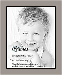 Art to Frames Double-Multimat-651-88/89-FRBW26079 Collage Photo Frame Double Mat with 1 - 16x20 Openings and Satin Black Frame