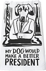 Primitives By Kathy LOL Dish Towel, 28 x 28, Dog
