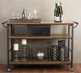 Baxton Studio Lancashire Kitchen Cart - YLX-0001-KC