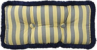 Ellery Homestyles Waverly 14925012X026HTB Sanctuary Rose 12-Inch by 26-Inch Oblong Decorative Pillow, Heritage Blue
