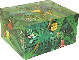 Wayborn Tropical Jewelry Box - 12W x 6.5H in., Womens - 3054