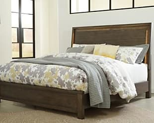 Ashley Furniture Camilone Queen Panel Bed, Dark Gray