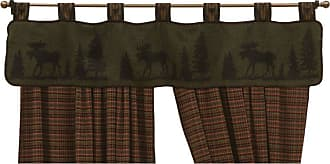 Wooded River Moose I Tab Top Valance - WD27080