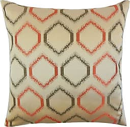 The Pillow Collection Connolly Geometric Bedding Sham Orange, Queen/20 x 30