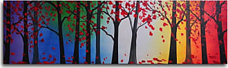 Omax Decor Trees Hold Hands Canvas Wall Art - 40W x 12H in. - M 2201