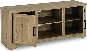 Costway Rustic TV Stand Entertainment Center Farmhouse Console Storage Wood Cabinet New