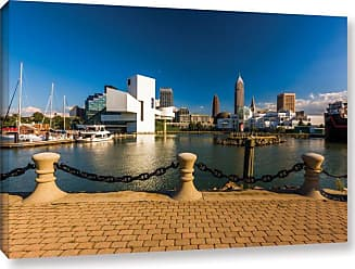 Brushstone Cleveland Skyline 8 Wall Art - 0YOR068A0812F