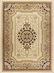Tayse Jayden Traditional Oriental Ivory Rectangle Area Rug, 10.6 x 14.6