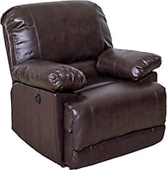 CorLiving LZY-342-R Lea Collection Recliner, Chocolate Brown