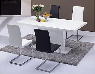 Tables en Blanc - 1783 produits - Soldes : jusqu\'\'à −65% | Stylight