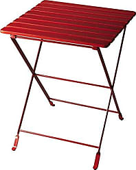Butler 4277293 BAILEY RED FOLDING SIDE TABLE