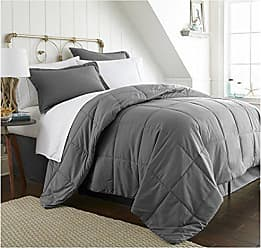 iEnjoy Home Bed in a Bag, Twin XL, Gray