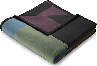 Biederlack Couverture Couverture Plaid Cotton 150x200 cm Colour Tissé Carreaux Multicolores