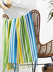 Simons Maison Tropical stripe beach blanket 60 x 60