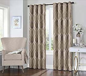 Ellery Homestyles KOZDIKO Eclipse Caprese 52 x 63 Insulated Darkening Single Panel Grommet Top Window Treatment Living Room, 52x63, Taupe