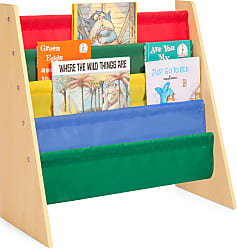 Best Choice Products Kids Bookshelf Storage Rack - Multicolor