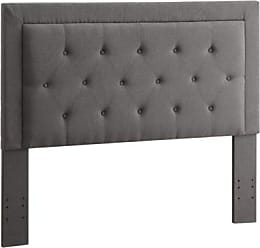 Ashley Furniture Clayton Full/Queen Upholstered Headboard, Charcoal
