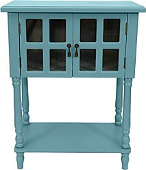 Decor Therapy FR8446 Accent Table, Robins Egg
