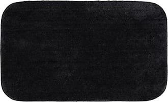 Garland Rug BA010W024040J9 Traditional Bath Rug, 24-Inch by 40-Inch, Black