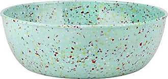 Zak designs 2316-0322-AMZ Confetti Serving Bowls, Mint LS