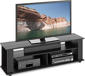 CorLiving TBF-605-B Bakersfield TV Stand, Ravenwood Black