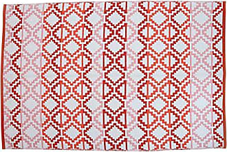 Foreside Home And Garden 4X6 Rhombus Rug
