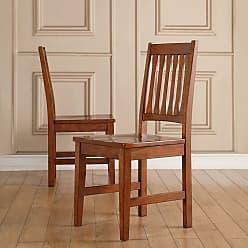 Winners Only Slat Back Dining Side Chair - Set of 2 - WIN786-1