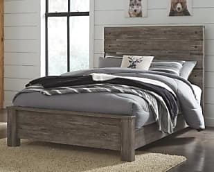 Ashley Furniture Cazenfeld Full Panel Bed, Black/Gray