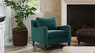 Jennifer Taylor Home 63410-1-893 Serena Lawson Accent Chair, Evergreen